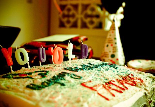 Places — Happy Birthday Cake